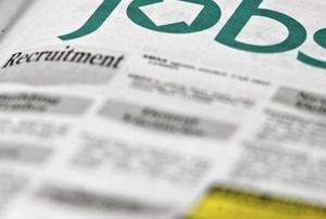 Job adverts in a local newspaper