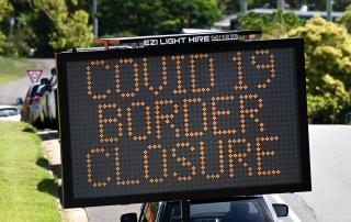 Australia Covid-19 border closure